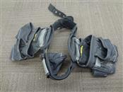 AWP NYLON ADJUSTABLE TOOL RIG BELT WITH TWO POUCHES (NO SHOULDER STRAPS)